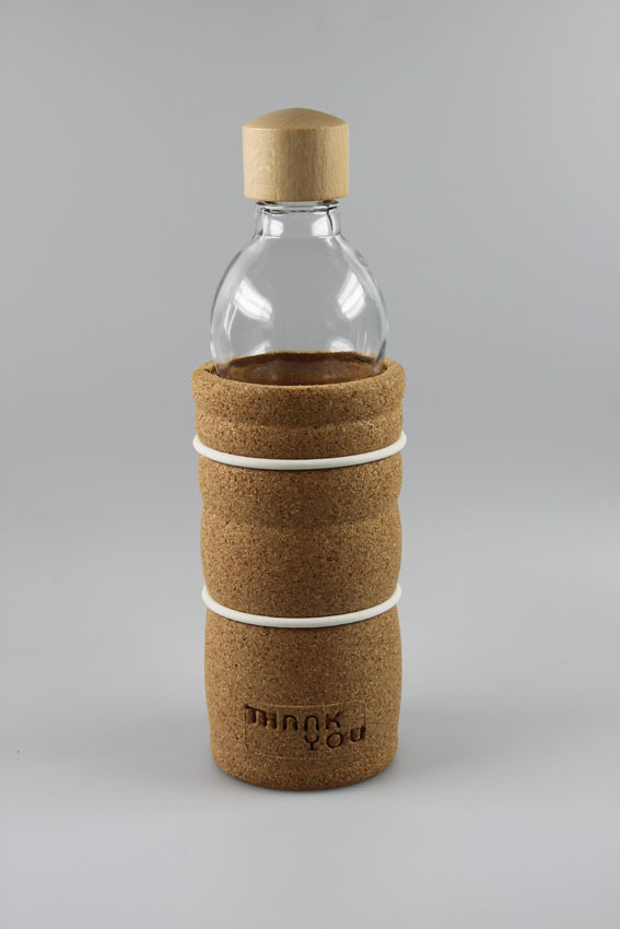 Trinkflasche - Thank You - 100% Eco Products